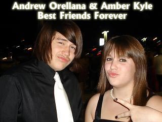 Andrew Orellana and Amber Kyle
