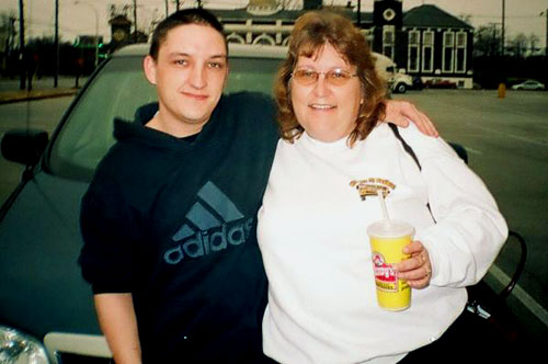 BJ and his mom, Carolyn