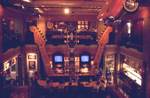 Hard Rock Café in Washington, DC, where Stephen Lee Puckett worked and is now a legend!