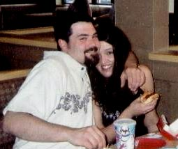 Travis McCuddy and his wife, April